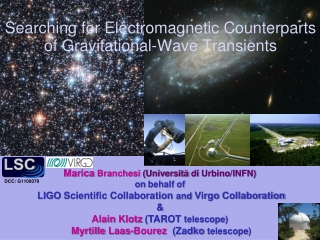 Searching for Electromagnetic Counterparts  of Gravitational-Wave Transients