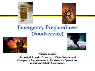 Emergency Preparedness (Foodservice)