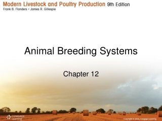 animal breeding systems