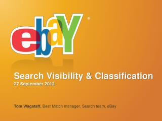Search Visibility & Classification 27 September 2012