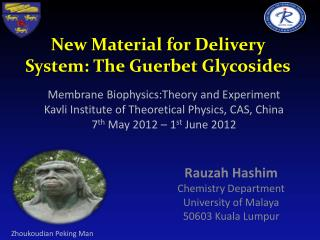 New Material for Delivery System: The  Guerbet  Glycosides