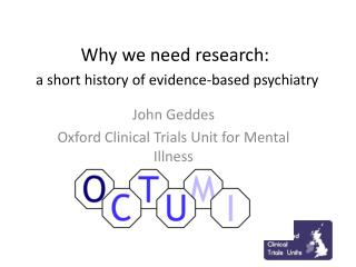 Why we need research: a short history of evidence-based psychiatry