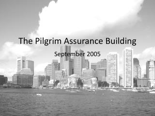 The Pilgrim Assurance Building