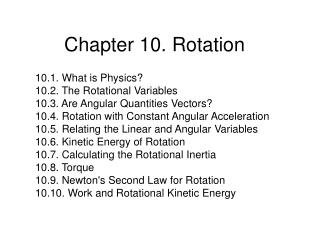 chapter 10. rotation
