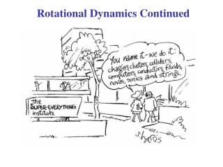 rotational inertia  angular momentum