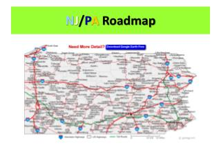 N J / P A Roadmap