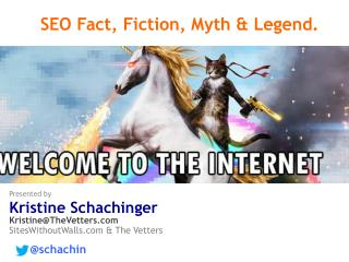 SEO Fact, Fiction, Myth & Legend.