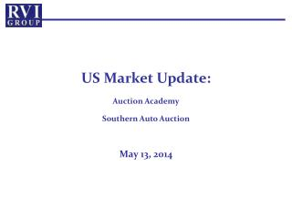 US Market Update: Auction Academy Southern Auto Auction  May 13, 2014