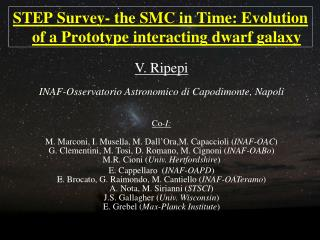 STEP Survey- the SMC in Time: Evolution of a Prototype interacting dwarf galaxy