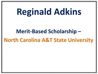 Reginald Adkins