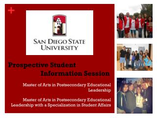 Prospective Student Information Session
