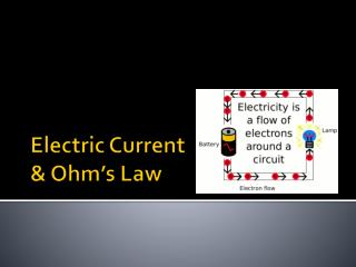 Electric Current & Ohm's Law