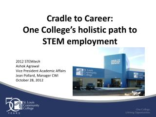 Cradle to Career: One College's holistic path to STEM employment
