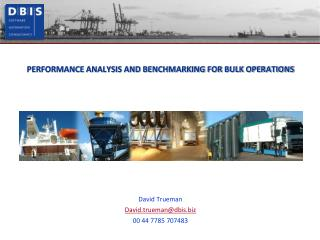 PERFORMANCE ANALYSIS AND BENCHMARKING FOR BULK OPERATIONS