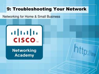 9: Troubleshooting Your Network