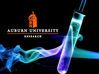 John M. Mason, Jr. PhD, PE President, John D. Weete , PhD Executive Director, Auburn Research & Technology Found