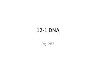 12-1 DNA