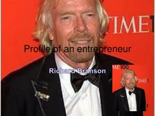 Profile of an entrepreneur