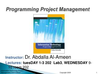 Programming Project Management