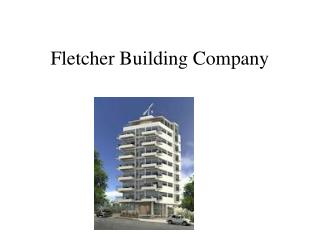 Fletcher Building Company