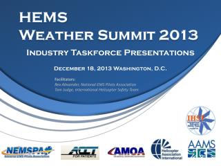 HEMS  Weather Summit  2013