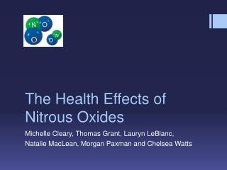 The Health Effects of Nitrous Oxides