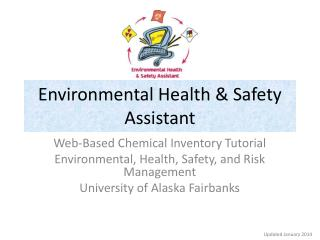 Environmental Health & Safety Assistant