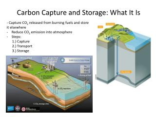 Carbon Capture and Storage: What It Is