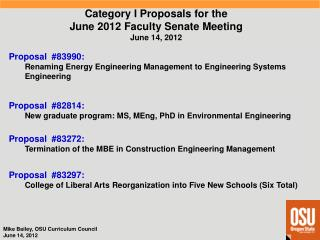 Proposal  #82814 : New graduate program: MS,  MEng ,  PhD in Environmental Engineering