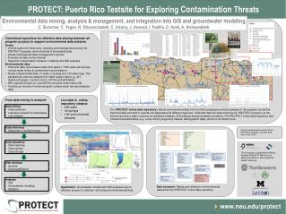 PROTECT: Puerto Rico Testsite for Exploring  Contamination  Threats