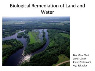 Biological Remediation of Land and Water