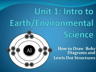 Unit 1: Intro to Earth/Environmental Science