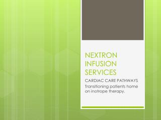 NEXTRON INFUSION SERVICES