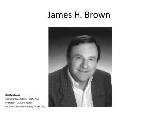 James H. Brown