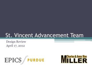 St. Vincent Advancement Team