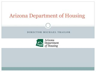 Arizona Department of Housing