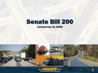 Senate Bill 200 ( revised  July 10, 2009)