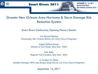 The Four Major New Orleans Flood Risks
