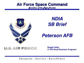 Air Force Space Command Guardians of the High Frontier
