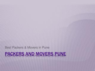 Pune | Packers and Movers in Pune | Best Packers