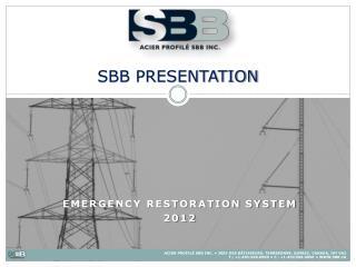 SBB PRESENTATION