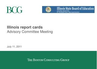 Illinois report cards Advisory Committee Meeting