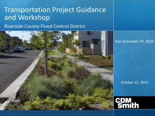 Transportation Project Guidance and Workshop
