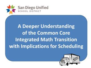 A Deeper Understanding of the Common Core  Integrated Math Transition with Implications for Scheduling