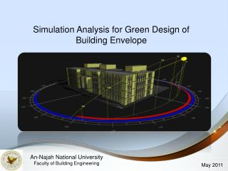 Simulation Analysis for Green Design of Building Envelope