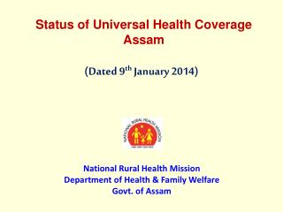 Status of Universal Health Coverage Assam
