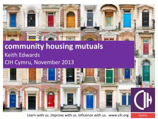 community housing  mutuals Keith Edwards CIH Cymru, November 2013