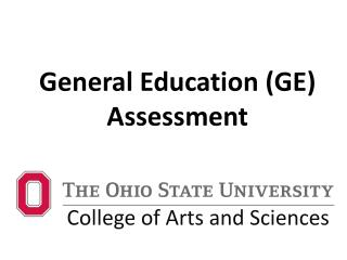 General Education (GE) Assessment