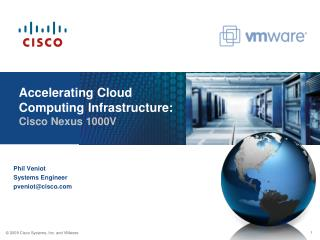 Accelerating Cloud Computing Infrastructure: Cisco Nexus 1000V