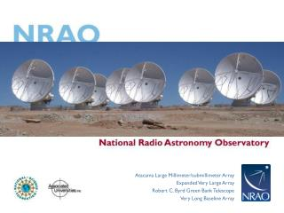 Observing with ALMA Introduction: ALMA and the NAASC
